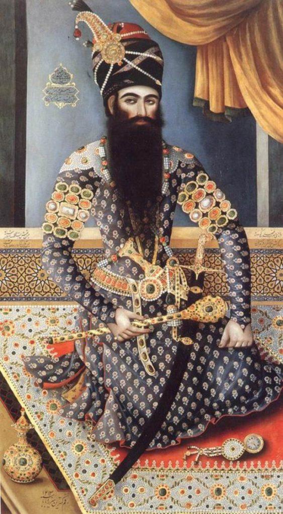 Antico dipinto persiano