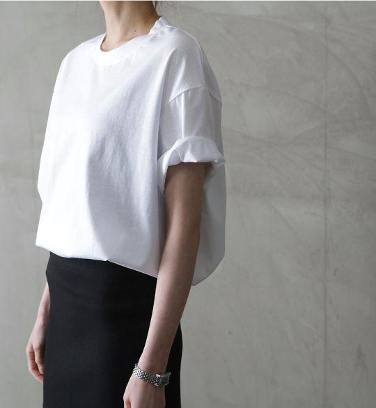 T-shirt bianca.