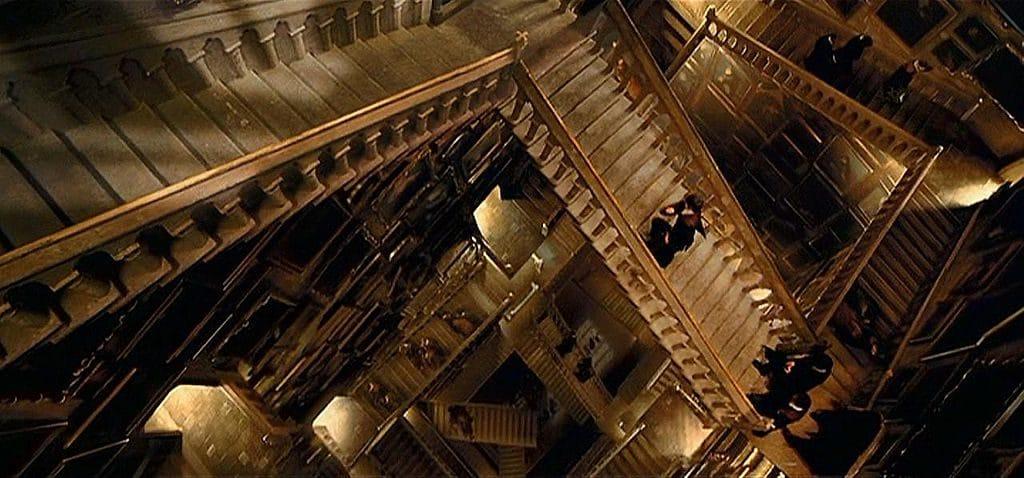 "Una scena del film ""Harry Potter"", interni di Hogwarts"
