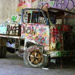 furgone abbandonato a consonon