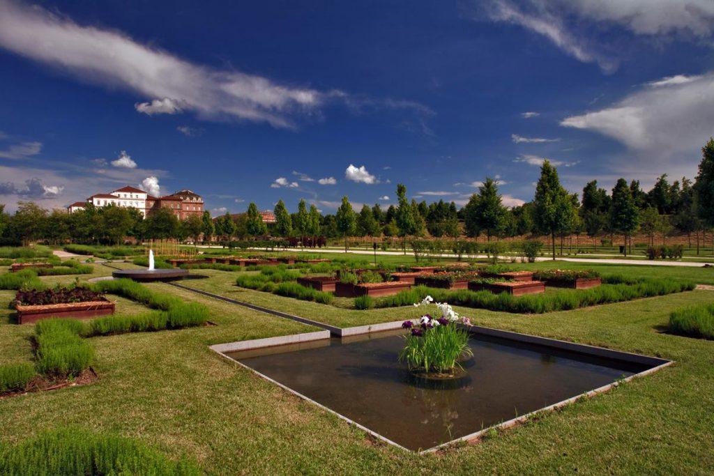 Giardini della Venaria Reale (foto Facebook Reggia di Venaria)