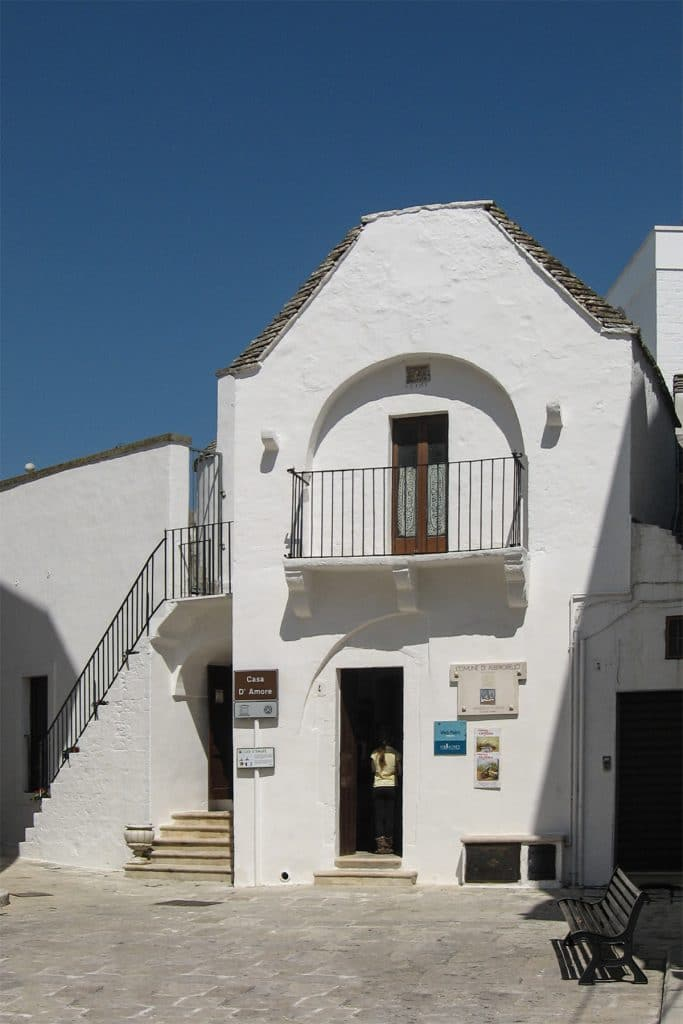 Casa D'Amore, oggi Ufficio del Turismo