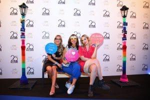 Party Night KIABI, 15 settembre 2016; Iolanda Corio con Eni Abeni e Rossella Romano