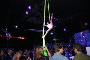 Party Night KIABI, 15 settembre 2016; Aerial Performance