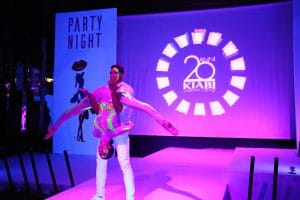 Party Night KIABI, 15 settembre 2016; acrobatic performance