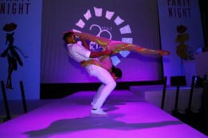 Party Night KIABI, 15 settembre 2016; acrobatic performance