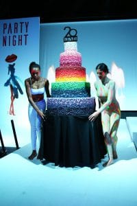 Party Night KIABI, 15 settembre 2016; torta