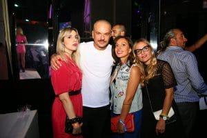 Party Night KIABI, 15 settembre 2016; DON JOE dei CLUB DOGO con Iolanda Corio, Eni Abeni e Rossella Romano