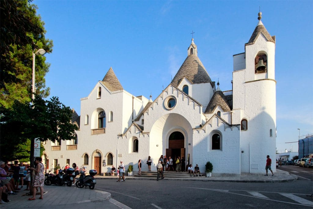 Facciata della Chiesa di S. Antonio