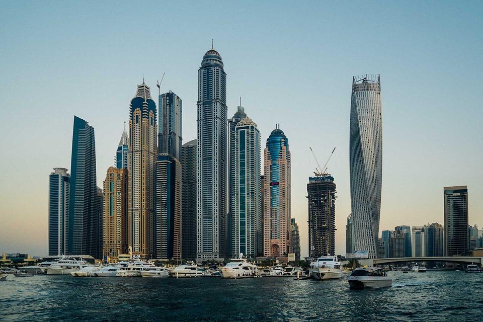 Dubai, città degli Emirati Arabi Uniti