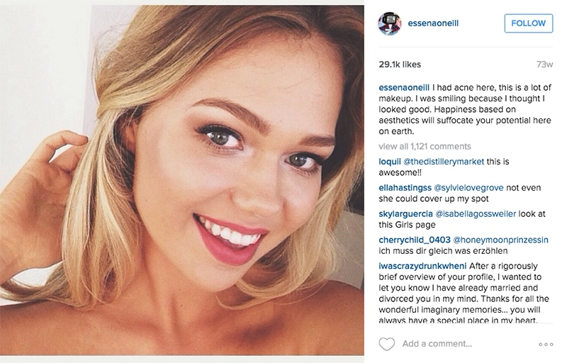 Essena O'Neill smaschera i trucchi del suo profilo Instagram