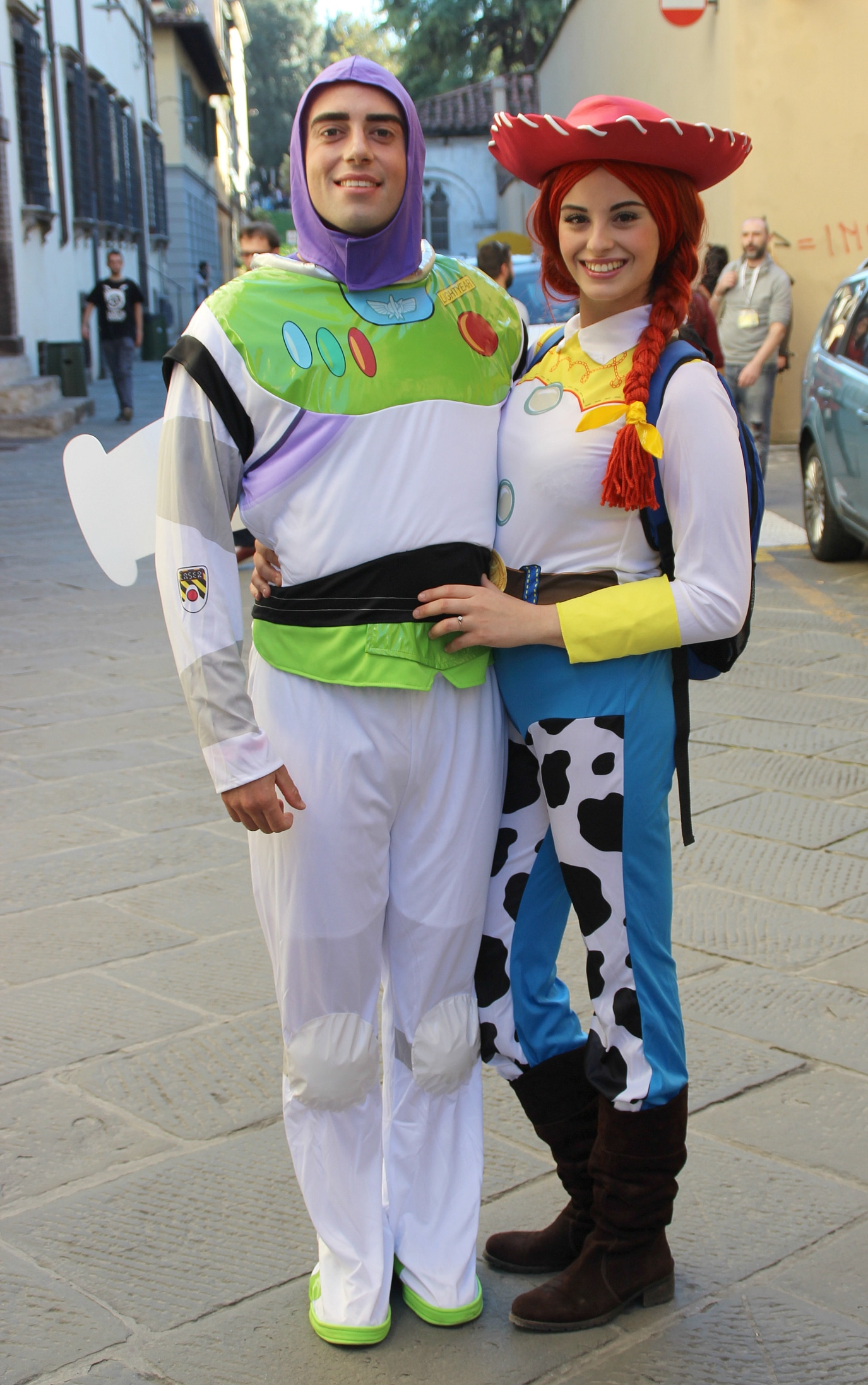 Cosplay Toy Story.