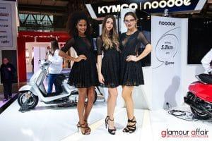 Eicma 2016, Milano Rho Fiera; Stand KYMCO; Eicma girl