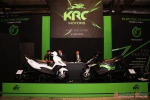 Eicma 2016, Milano Rho Fiera; Stand KRC motors; moto elettriche