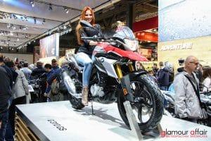 Eicma 2016, Milano Rho Fiera; Eicma girl; Stand BMW