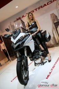 Eicma 2016, Milano Rho Fiera; Eicma Girl; Stand Ducati