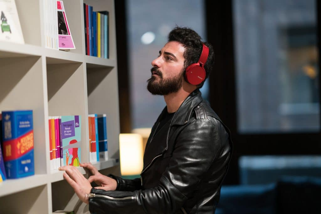 Photographs made for Sony new headset products launch