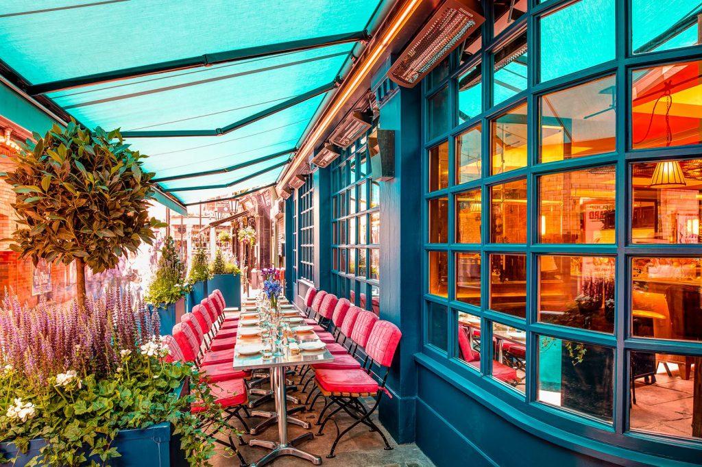 Londra, J Sheekey Atlantic Bar and Terrace