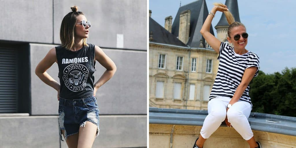 Trend - T-shirts over size; Ph. Credits: Primark; Eniwhere Fashion