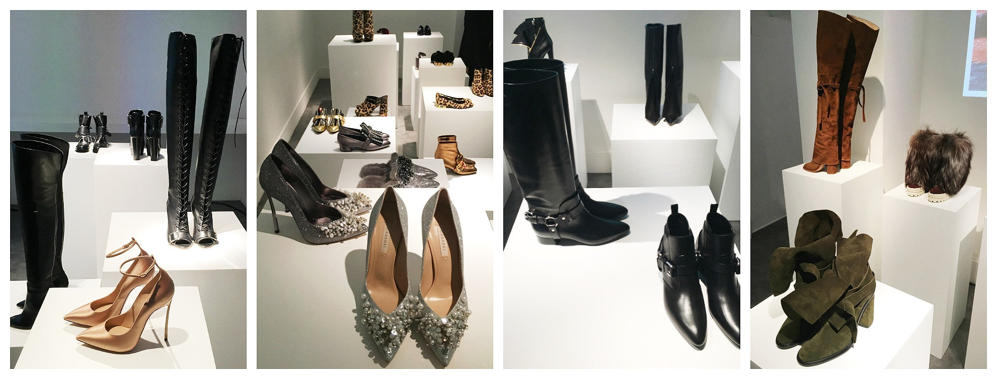 Casadei collection fall winter 2017-18.