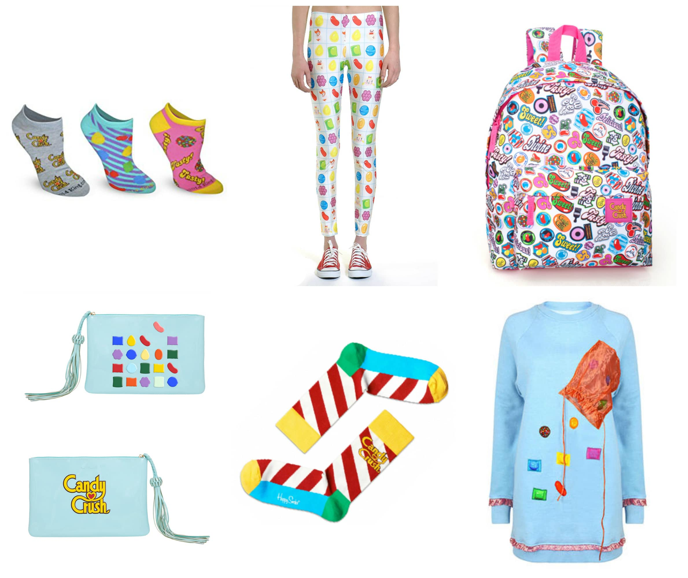 Candy Crush fashion collection.