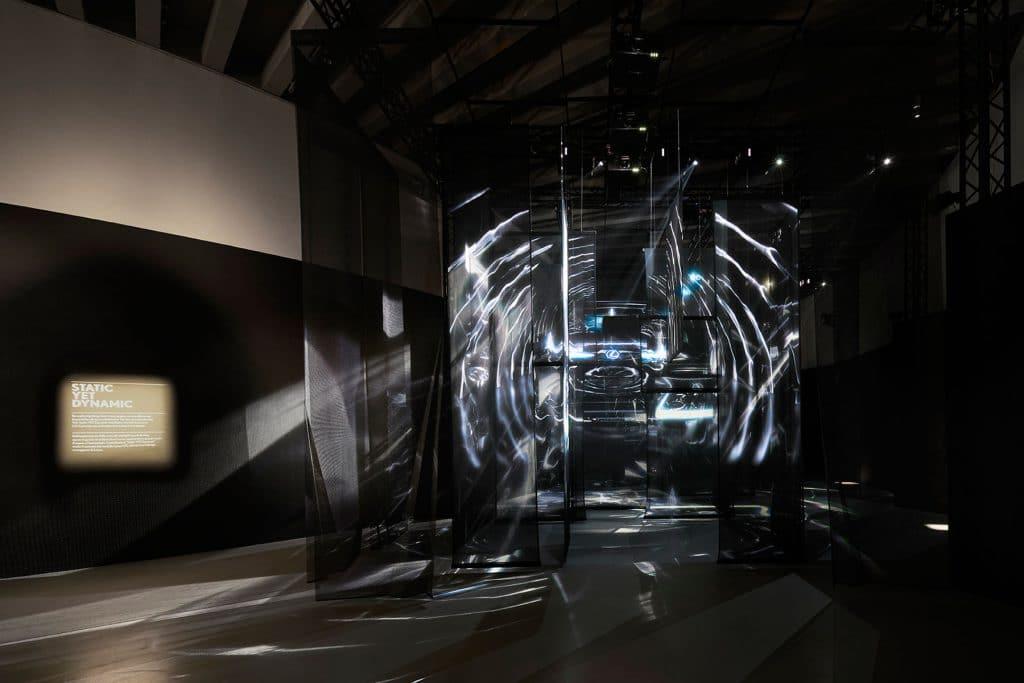 "Installazione ""Static YET Dynamic"" Lexus Design Award"