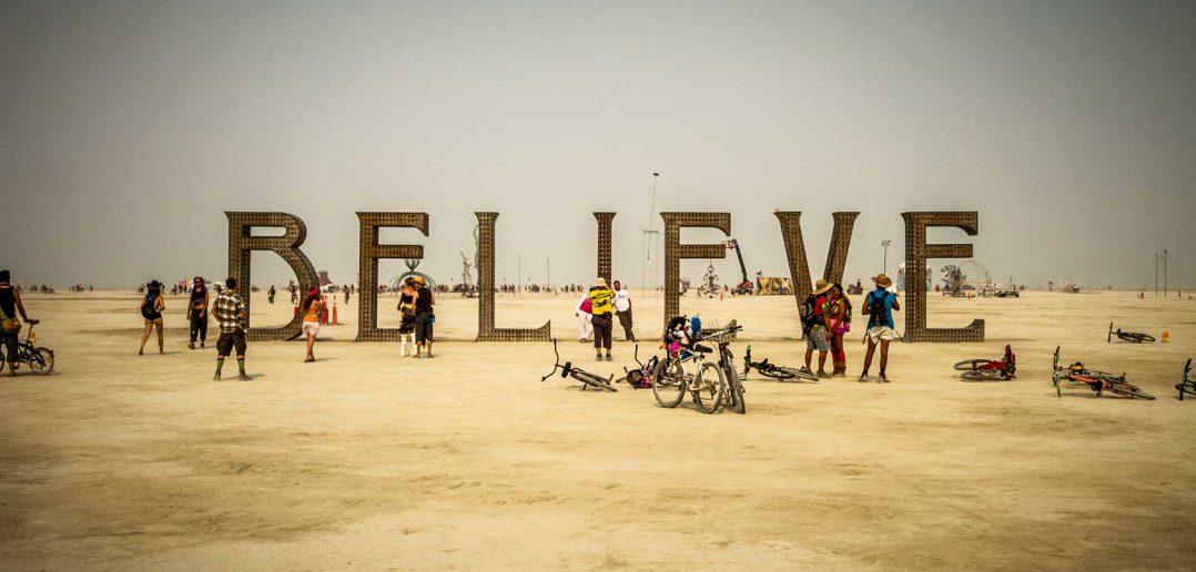 Burning Man Festival nel Nevada