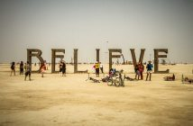 Burning Man Festival nel Nevada