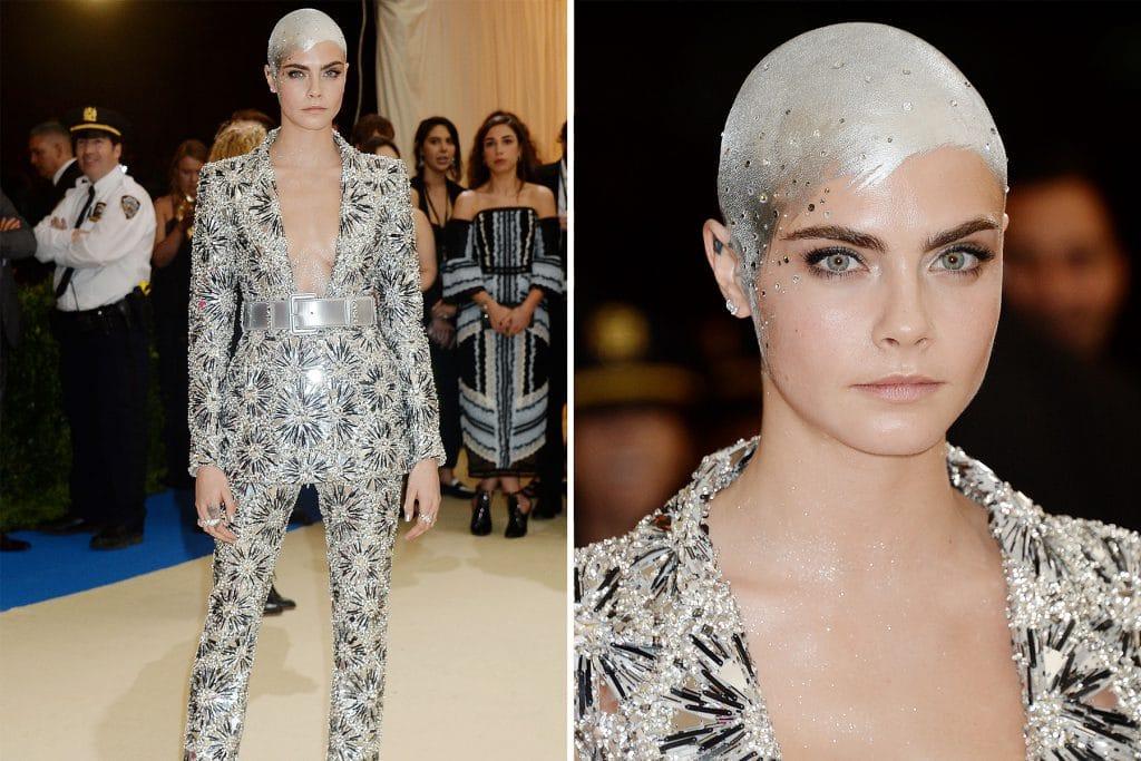 Cara Delevigne in Chanel
