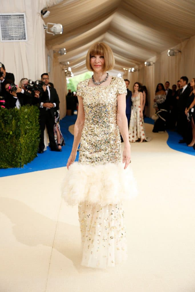 Anna Wintour - Credit: Benjamin Norman for The New York Times