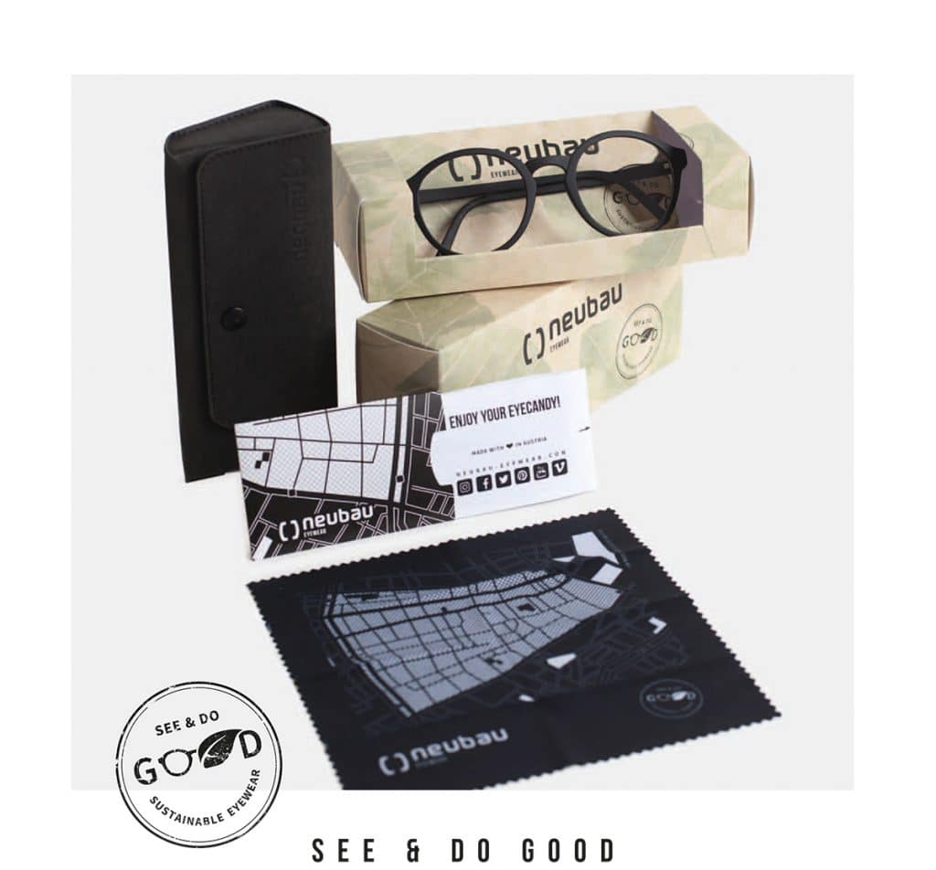 astucci e pezzuole neubau eyewear