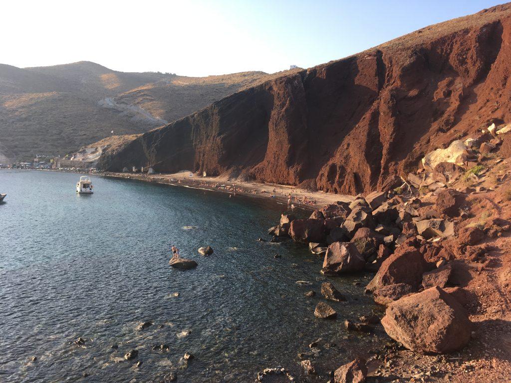 Santorini, Red Beach