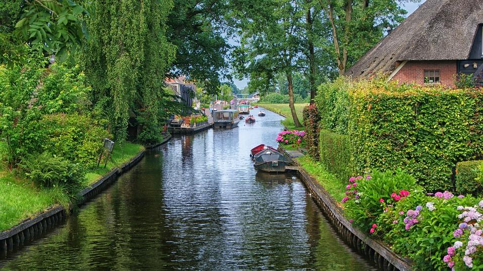 Giethoorn in Olanda.