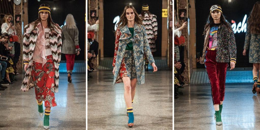 Ultràchic Fashion Show; sfilata Ultràchic a Milano, Sala Venezia; Milano Fashion Week FW 18/19; Stilista Diego Dossola