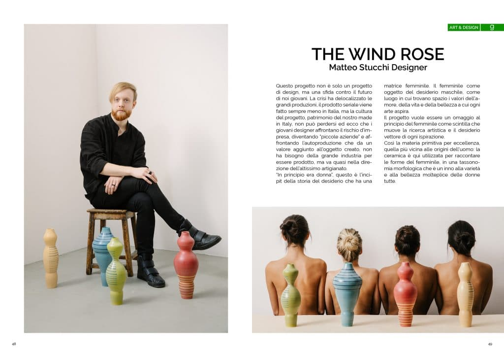 The wind rose, Matteo Stucchi Designer ; GAreview; Magazine fotografico di glamouraffair.com