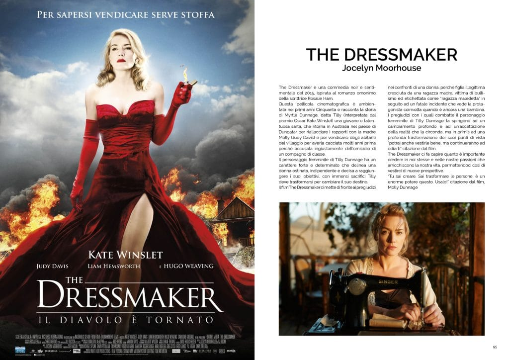 Donne e Cinema di Sara Tufoni, The Dressmaker; GAreview; Magazine fotografico di glamouraffair.com