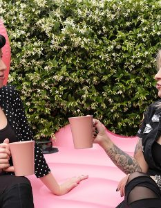 Pink Moment by Lory Ladydiabolika, fotografo Flavio Torre. Sezione Health & Beauty GAreview luglio-agosto 2018, Magazine online di glamouraffair.com
