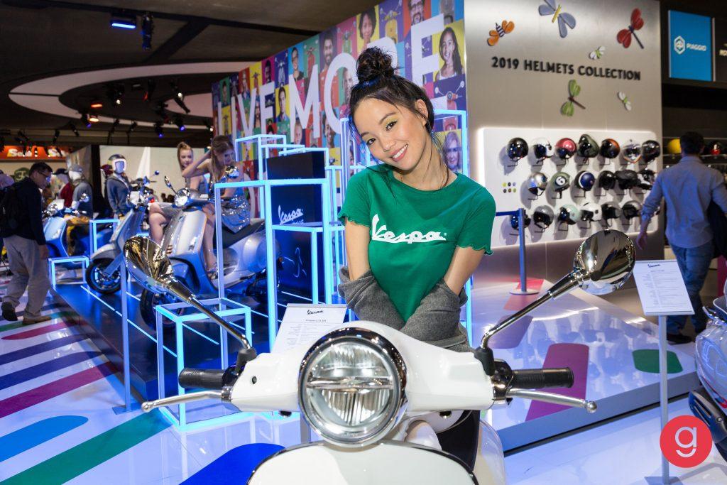 Eicma 2018, Fiera di Milano, 76° esposizione internazionale del ciclo, motociclo e accessori. Gallery eicma girls e moto