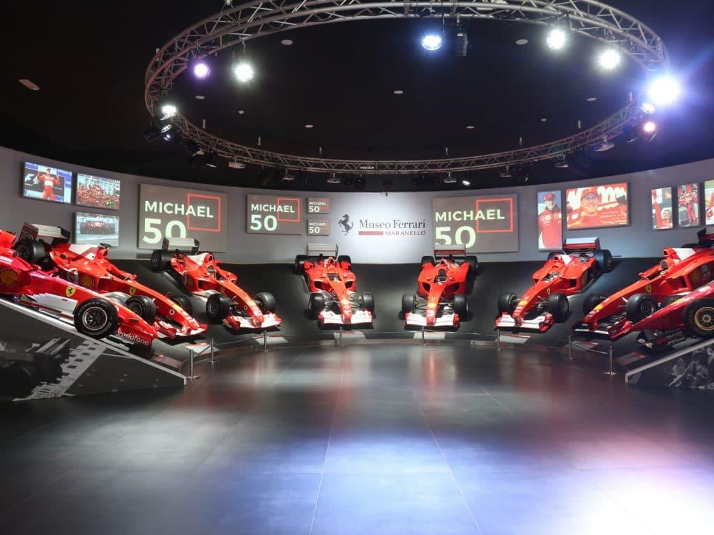 Mostra Michael 50, museo ferrari, maranelli. Michael Schumacher, Scuderia Ferrari