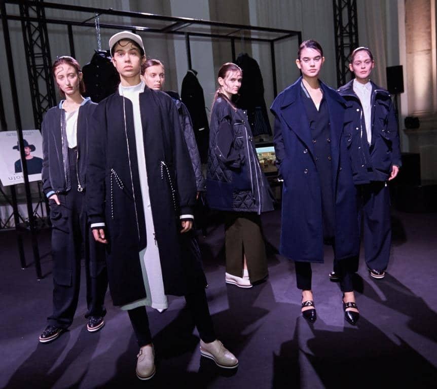 Saldarini cashmere flakes, Saldarini Collection Fall Winter 2019, Milano Fashion week fall winter 2019