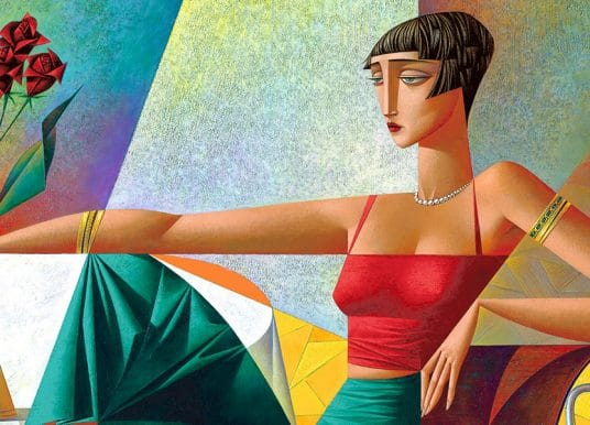 GEORGY KURASOV | cubist painter