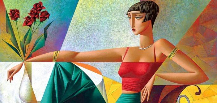 GEORGY KURASOV   cubist painter