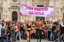 Body Positive Catwalk 2019, Milano. Laura Brioschi curvy model