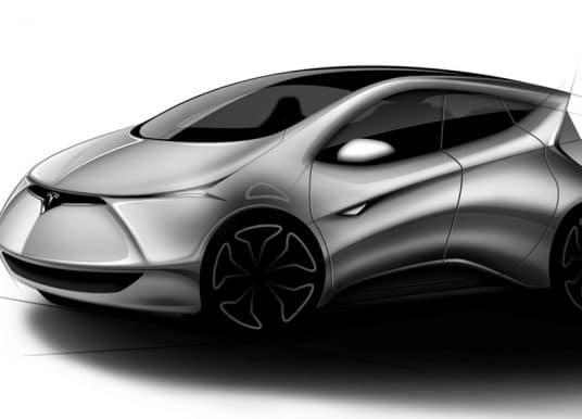 TESLA SHIVEN PRATAP SINGH   car design